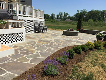 maryland Interlocking patio walkways